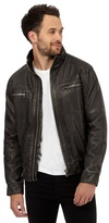 Red Herring Black Washed Biker Jacket