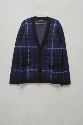 French Connection Oversized Check Cardigan