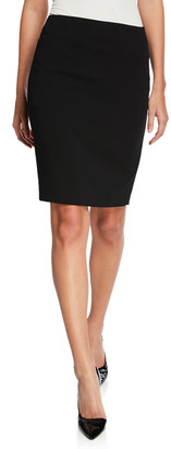 Akris Stretch Wool Pencil Skirt