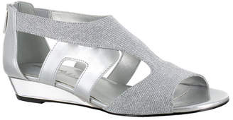 Easy Street Shoes Abra Wedge Sandals Women Shoes
