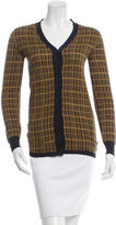 Prada Patterned Silk Cardigan