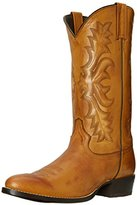 Stetson Men's Burnished Ficcini Round-Toe Riding Boot