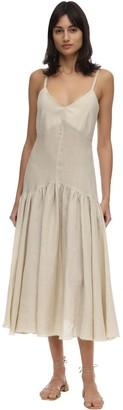 Maya Linen Midi Dress