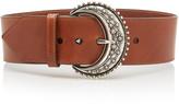 Etro Wide Leather Belt