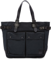 Belstaff Black Canvas Tote Bag