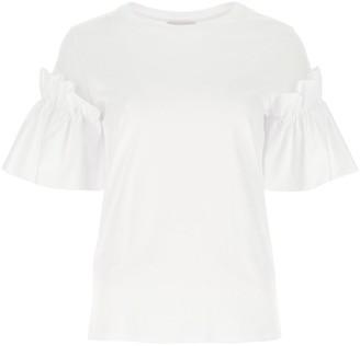 Alexander McQueen Ruffled T-Shirt