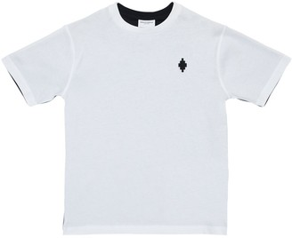 Marcelo Burlon County of Milan Color Block Cotton Jersey T-Shirt