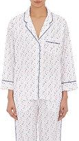 Sleepy Jones Women's Dot-Embroidered Marina Pajama Top