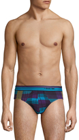 2xist Printed Modal No Show Brief