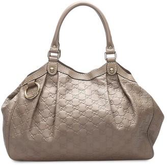 Gucci Pre-Owned Guccissima Sukey tote bag