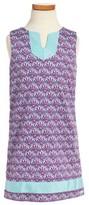 Vineyard Vines Toddler Girl's Scallop Print Shift Dress