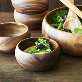 Sur La Table Acacia Wood Salad Bowl