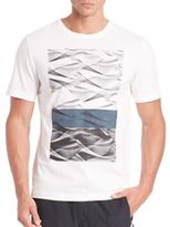 Madison Supply Graphic Cotton Blend Tee