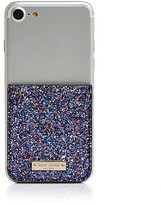 Kate Spade Glitter Coated Canvas Adhesive Card Case