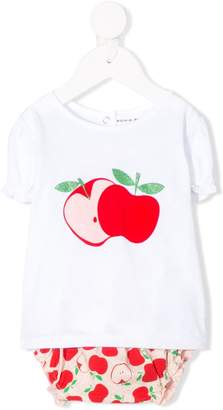 Sonia Rykiel ENFANT apple print trouser set