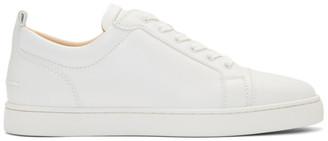 Christian Louboutin White Louis Junior Sneakers
