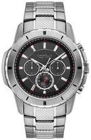 Caravelle New York Men's Caravelle New York Chronograph Watch - Silver