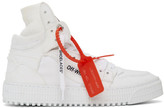 Off-White Off White White Canvas Off-Court 3.0 Sneakers