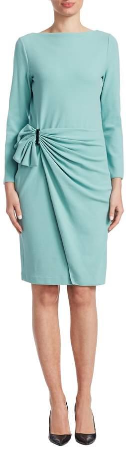 Armani Collezioni Women's Knit Gathered Dress