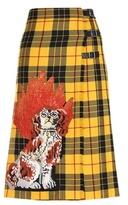 Gucci Embellished wrap skirt