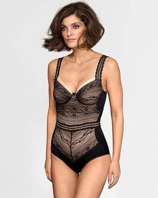 Miss Mary Of Sweden Miss Mary Vision Longline Black Bra