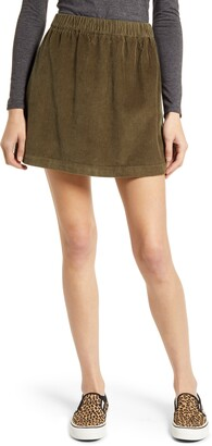 BP Corduroy Miniskirt