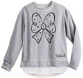 Disney Minnie Mouse Bow Fashion Sweatshirt for Women