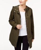 Style&Co. Style & Co Style & Co Petite Rainy Day Hooded Utility Jacket, Created for Macy's