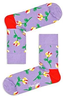 Happy Socks Floral Print Socks