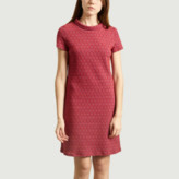 Alöe Antoine Et Lili Antoine et Lili - Red Short Sleeve Dress - 2 | red | cotton and polyester - Red/Red