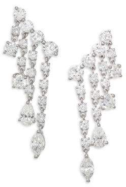 Anita Ko Diamond & White Gold Rain Drop Earrings