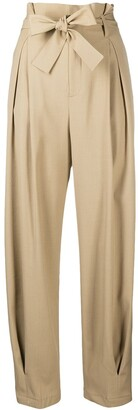 RED Valentino Paperbag Tapered Trousers