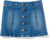 Old Navy Button-Front Denim Skirt for Toddler Girls