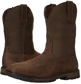 Ariat Groundbreaker Wide Square Toe H20 ST (Palm Brown/Ballistic Brown) Cowboy Boots