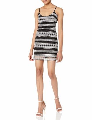 Devlin Women's Fast Fashion Women's Randi Combo Dress Black/White 10