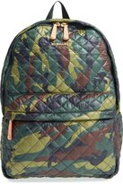M Z Wallace 'Metro' Quilted Oxford Nylon Backpack