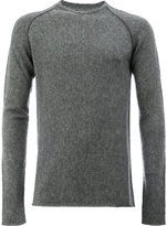 Label Under Construction crew neck sweater - men - Silk/Cashmere - 50