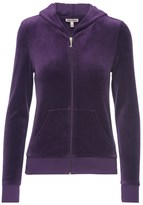 Juicy Couture Outlet - LOGO VELOUR JC LAUREL ROBERTSON JACKET