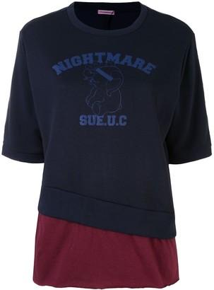 Undercover 'Nightmare' graphic print T-shirt