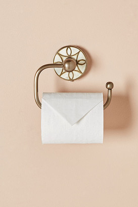 Anthropologie Launis Toilet Paper Holder By in Brown Size S