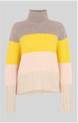 Whistles Cashmere Stripe Knit