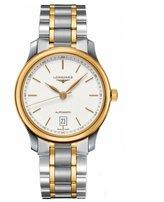 Longines Men's Steel Yellow Gold Bracelet & Case Automatic Dial Analog Watch L26285127