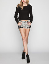 Others Follow Alice Womens Denim Shorts