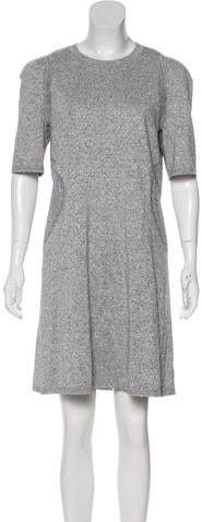 Chanel 2017 Metallic Knit Dress