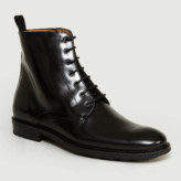 Anthology Paris - Black Polido Leather Boots - black | leather | 41 - Black/Black