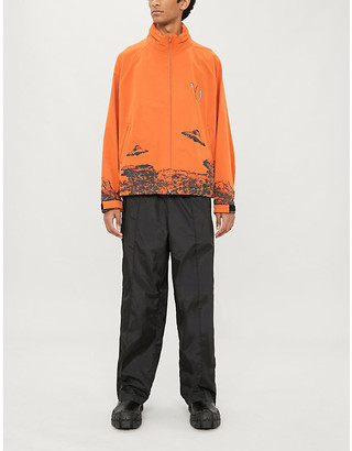 Undercover Graphic-print stretch-jersey track jacket