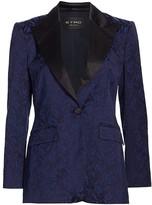 Etro Jacquard Tonal Tuxedo Jacket