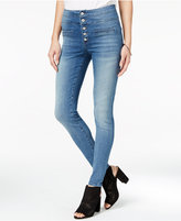 Celebrity Pink Body Sculpt by Juniors' The Slimmer High-Waist Skinny Jeans