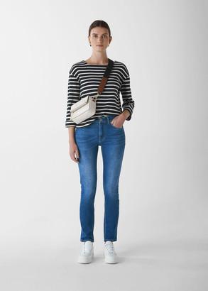 Mid Wash Skinny Jean