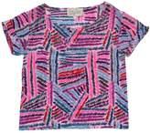 Rory Beca Pink, Purple, Blue & Green Print Shirt